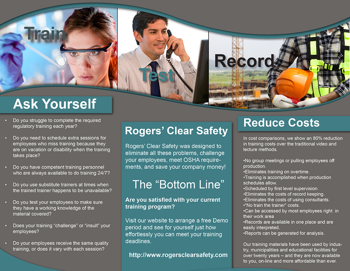 Corporate Brochure - InDesign